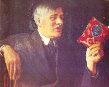 Портрет писателя К.И. Чуковского (1935 г.)