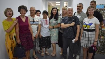 Презентація книги про волонтерів АТО (ООС) Запорізького краю